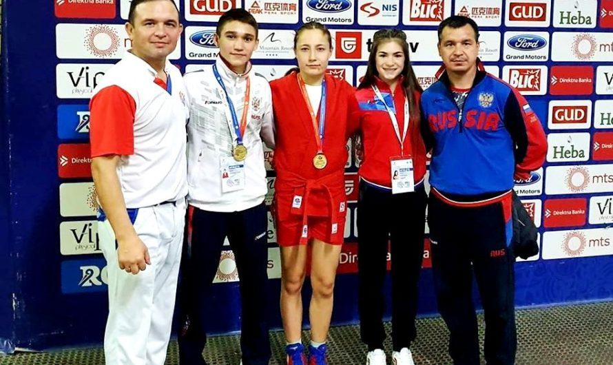 Самбисты Чувашии завоевали 4 «золота» чемпионата и первенства мира