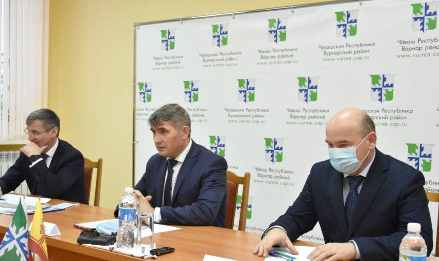 Олег Николаев лично разбирался с долгами за газ в Вурнарах