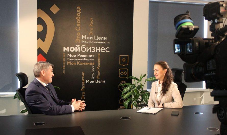 Олег Николаев стал гостем программы «ВЕСТИ интервью» на «РОССИЯ 24 Чебоксары»