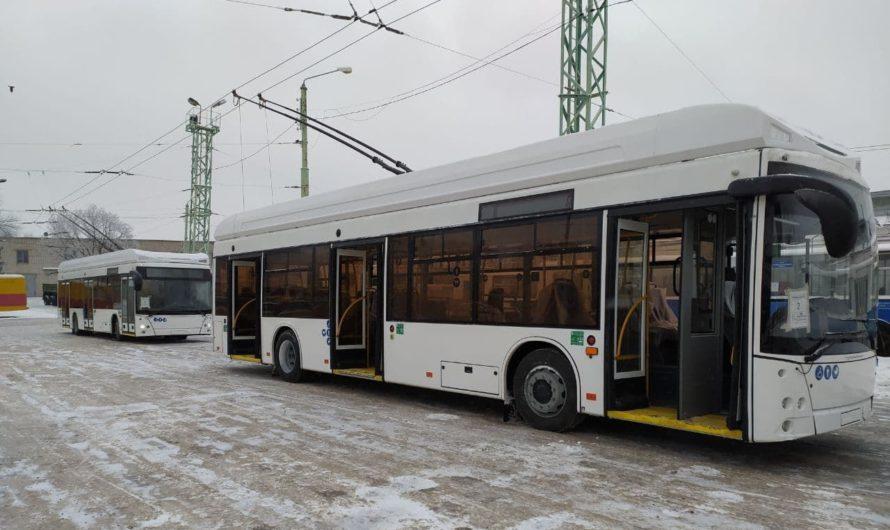 К 1 февраля в Чувашию прибудут 14 новых троллейбусов