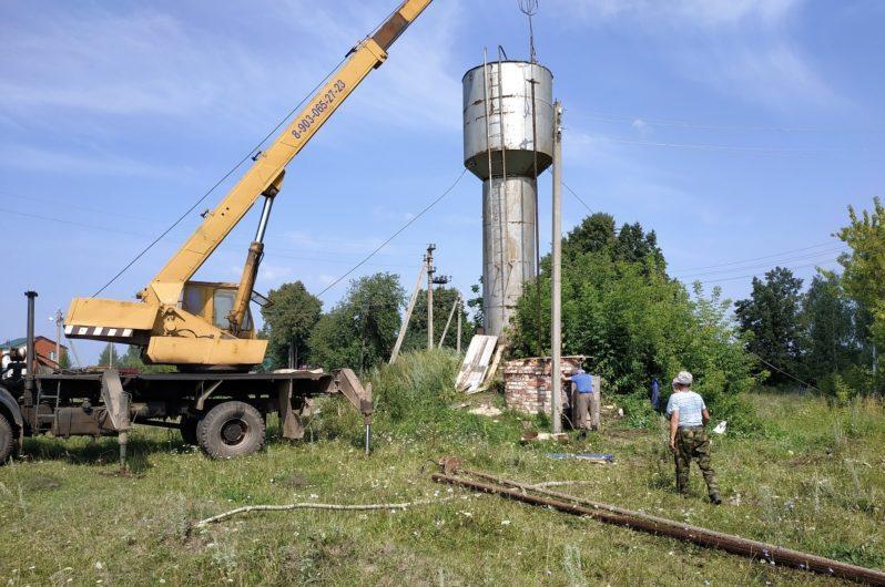 Районные центры ждет модернизация систем водоснабжения и водоотведения