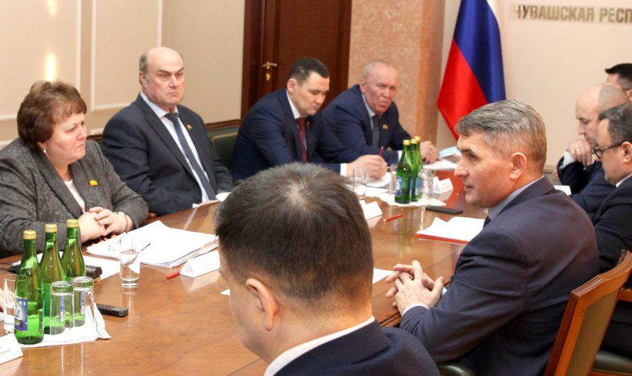 Госсовет Чувашии принял 68 законов по инициативе Олега Николаева