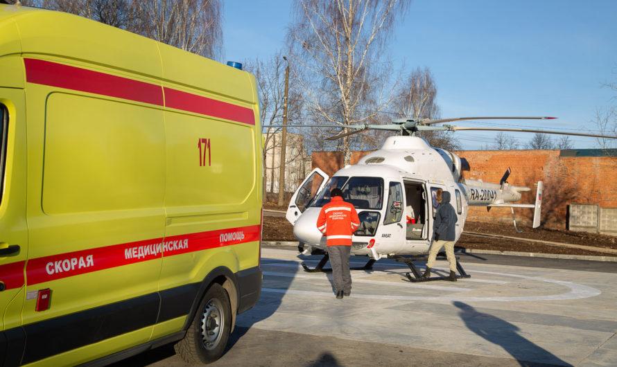 В 2021 году в Чувашии построят еще две вертолетные площадки для санавиации