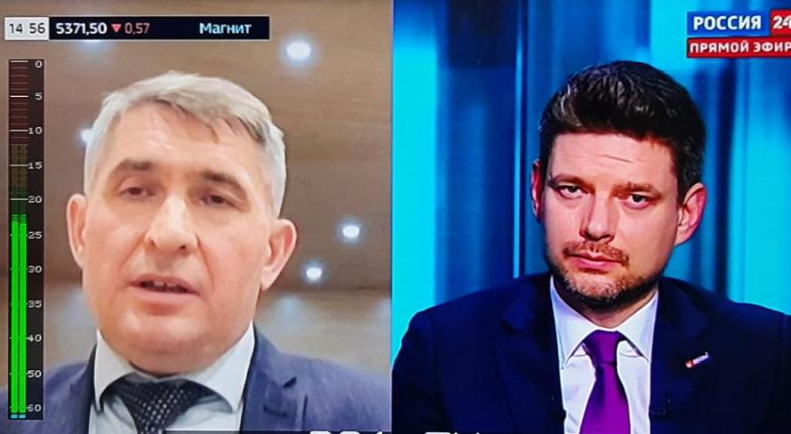 Олег Николаев в прямом эфире «Россия-24» рассказал о готовности республики к массовой вакцинации
