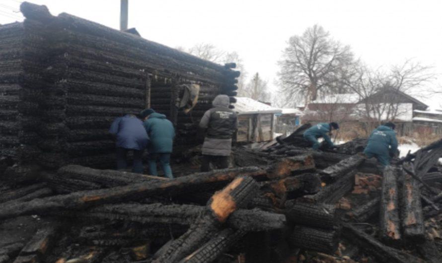 Пожар в Урмарском районе унёс жизни шестерых человек