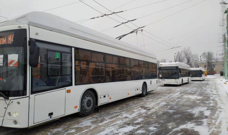 Новые троллейбусы «Горожанин» продолжают поступать в Чувашию
