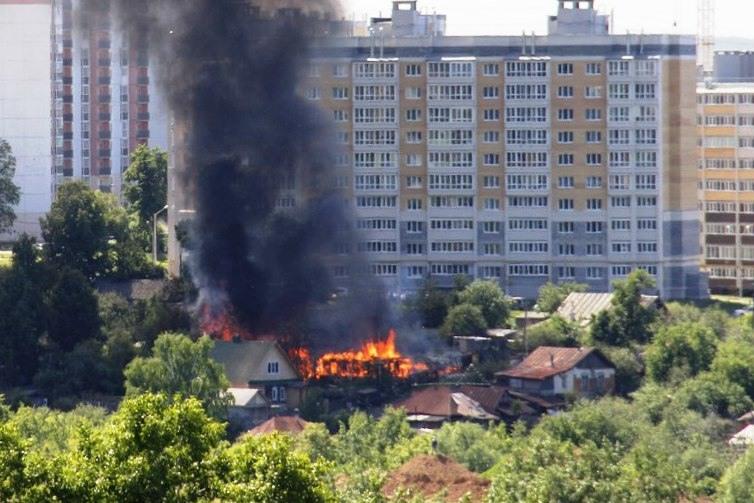 В Чувашии увеличилось количество пожаров и число погибших на них людей