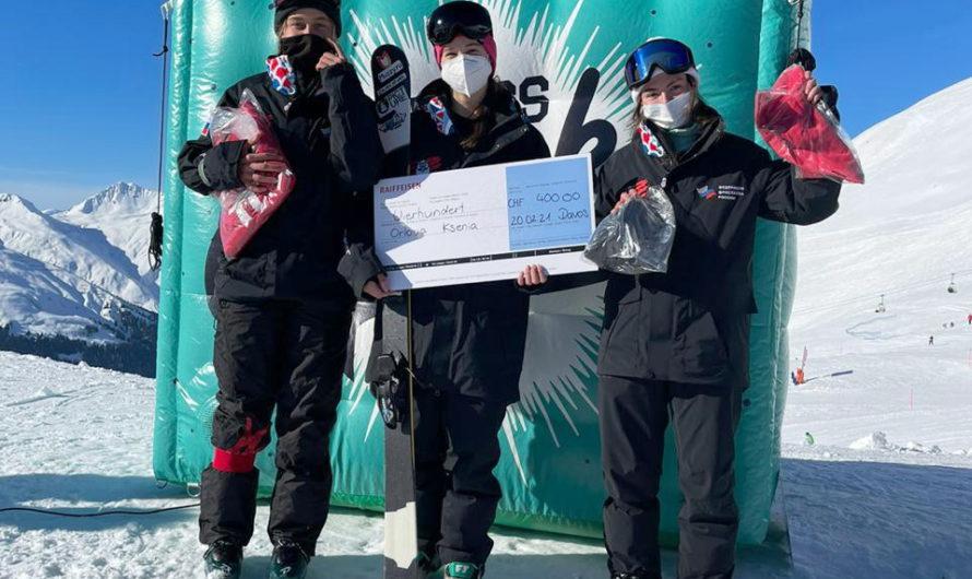 Фристайлистка из Чувашии Лана Прусакова завоевала «бронзу» на этапе Кубка Европы в Швейцарии