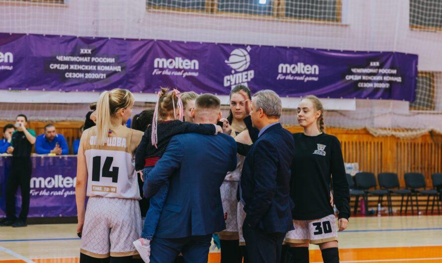Женская баскетбольная команда из Чувашии выиграла «бронзу» чемпионата России в Суперлиге-2