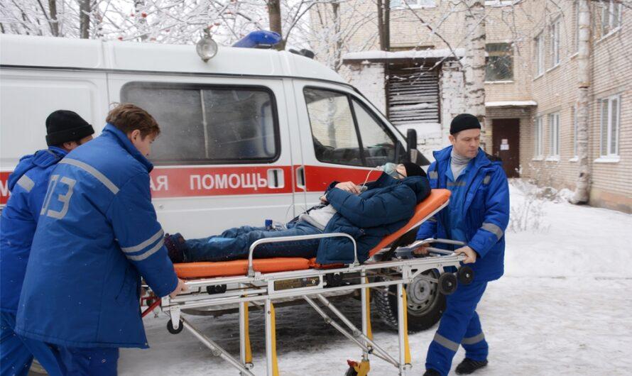 Около 106 тысяч обращений поступило в службу скорой помощи за три зимних месяца