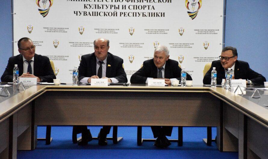 Состоялось первое заседание Попечительского совета возрожденной Федерации волейбола Чувашии