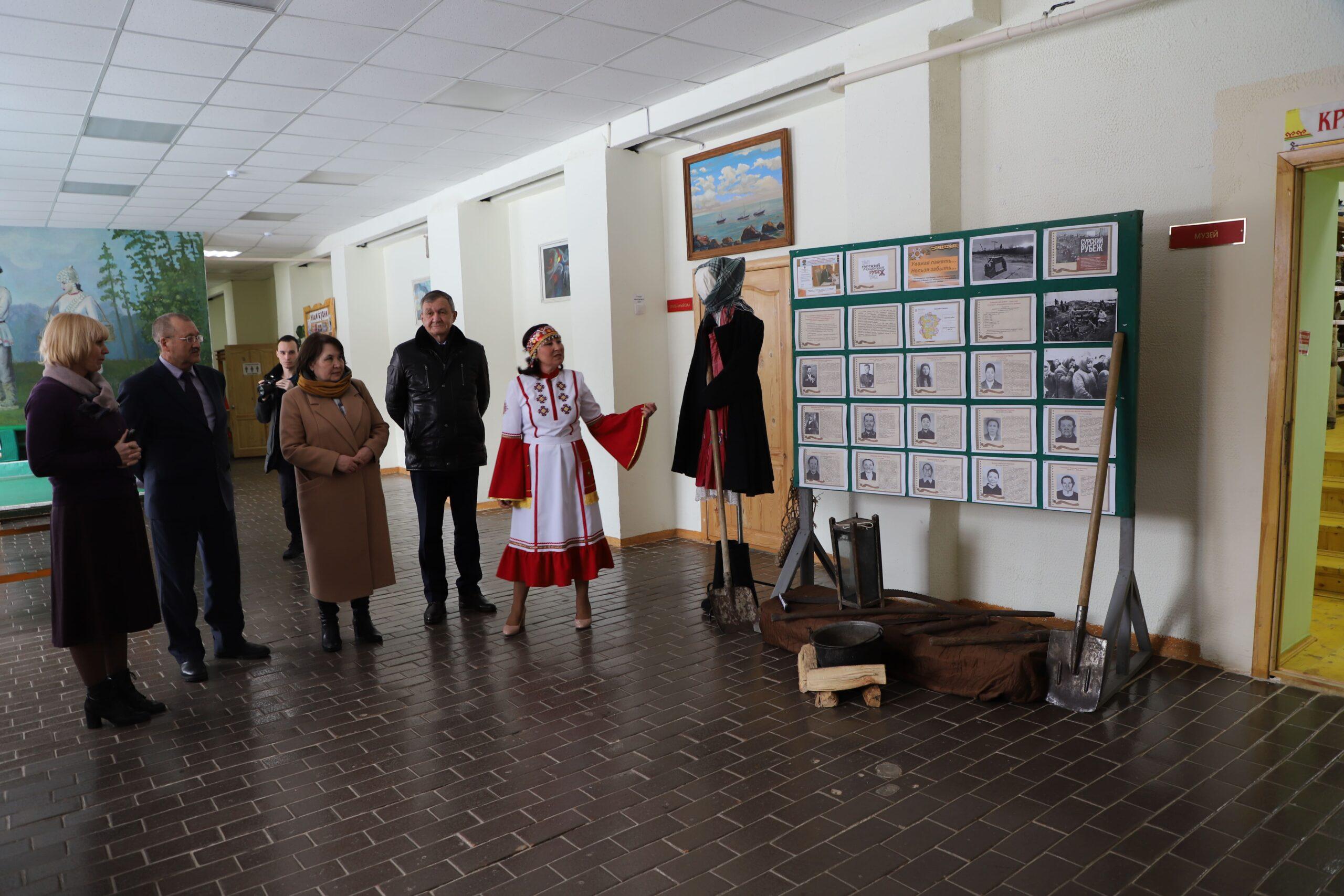 В Аликовском районе готовятся к шествию Бессмертного полка с участием колонны «Строители Сурского рубежа»