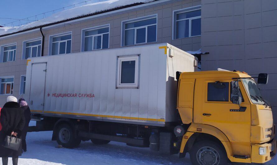 Сотрудницы завода имени В.И. Чапаева оценили возможности передвижного маммографа