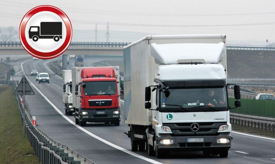 С 22 марта проезд грузового транспорта по дорогам Чувашии будет временно ограничен