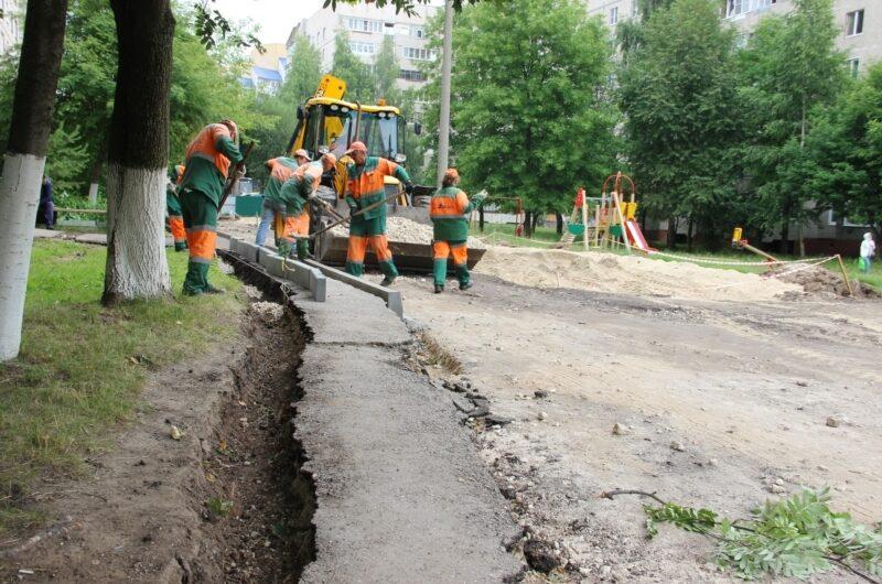 В 2021 году в Чебоксарах отремонтируют и благоустроят 112 дворовых территорий