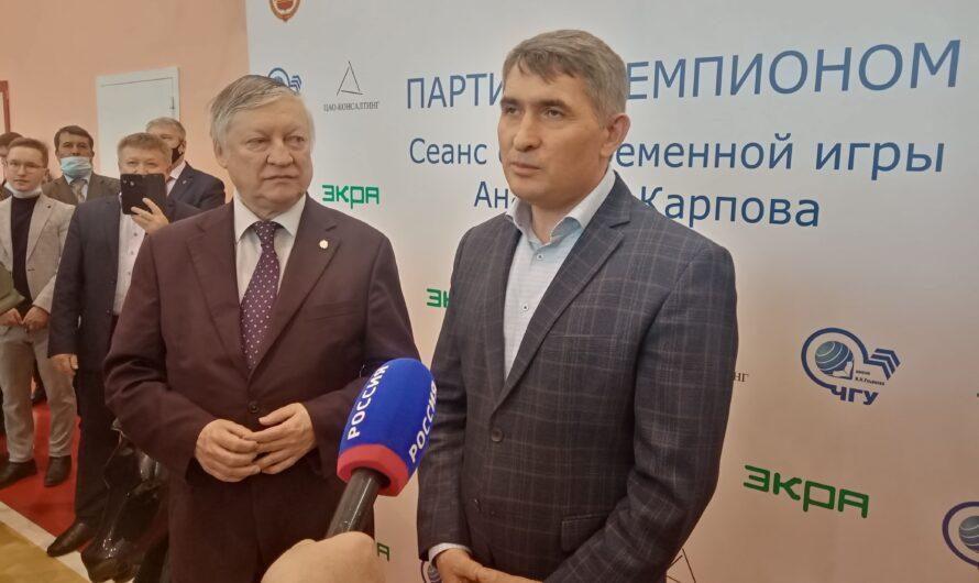 «Высшая лига» по шахматам пройдет в июне в Чебоксарах