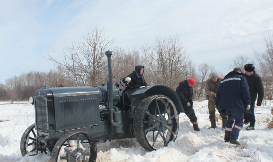 «Чувашкино» с участием Музея истории трактора отсняли эпизоды художественного фильма