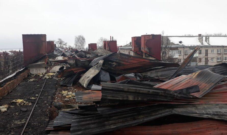 Жилой дом в Канаше после пожара временно непригоден для проживания