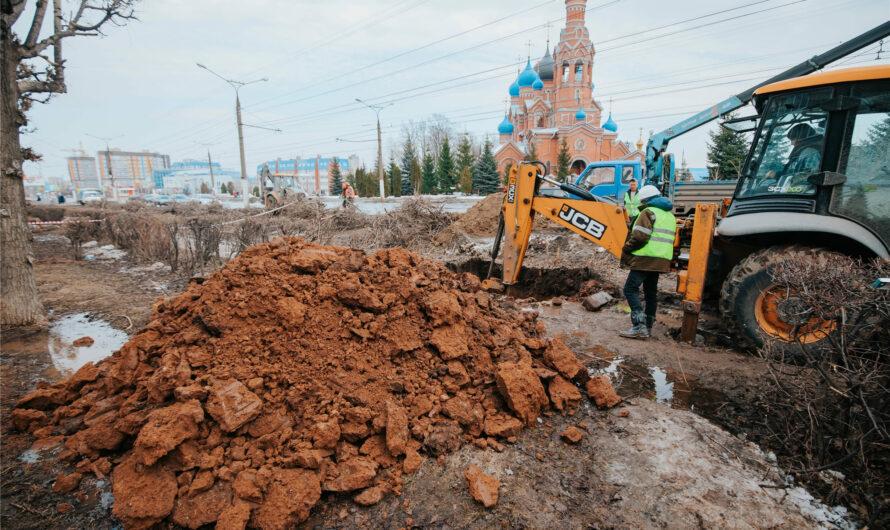 В Чебоксарах началась масштабная реконструкция дороги по улице Гражданской