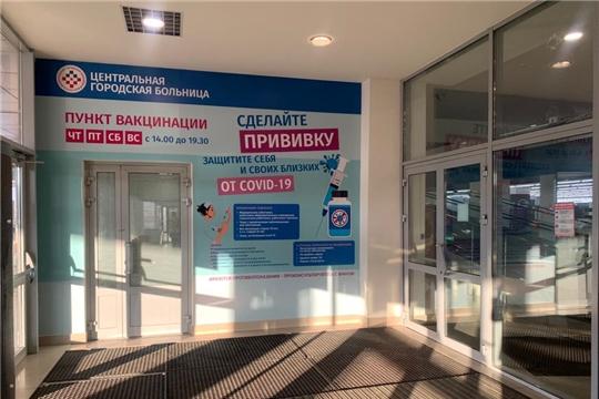 В Чебоксарах пройдет очередная вакцинация от COVID-19 в торговом центре