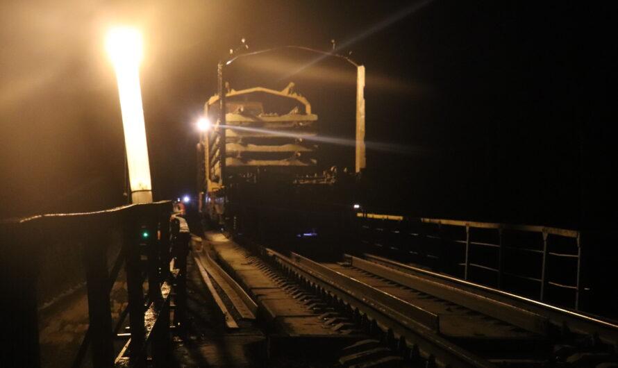 В Чувашии продолжается масштабный ремонт железнодорожных путей