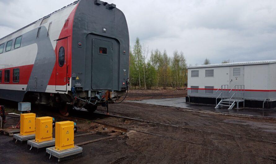 Для двухэтажных вагонов в Чебоксарах оборудовали современную энергоустановку
