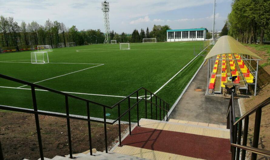 В столице Чувашии после масштабной реконструкции открывается новое футбольное поле