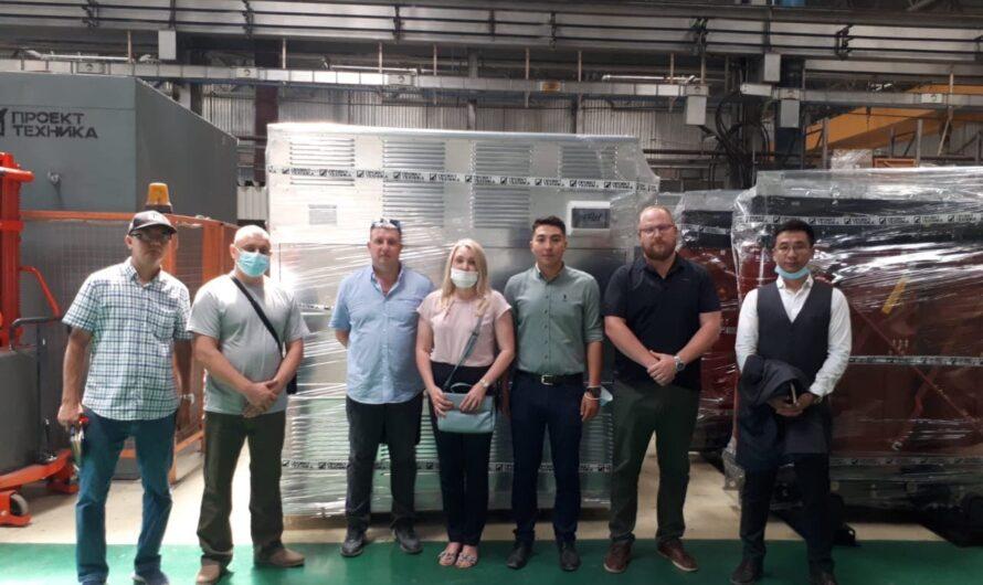 Казахские бизнесмены наладили контакты с чувашскими производителями электротехники