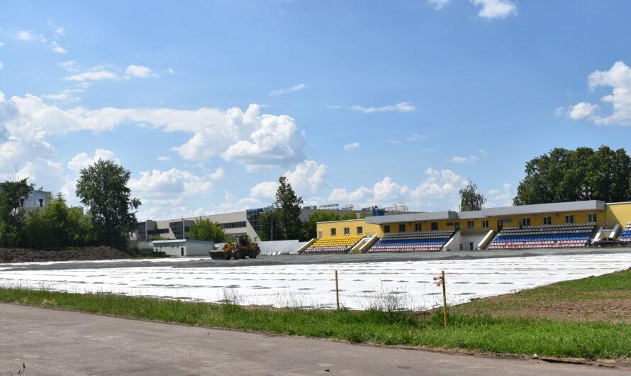 На стадионе «Энергия» в Чебоксарах обновят футбольный газон