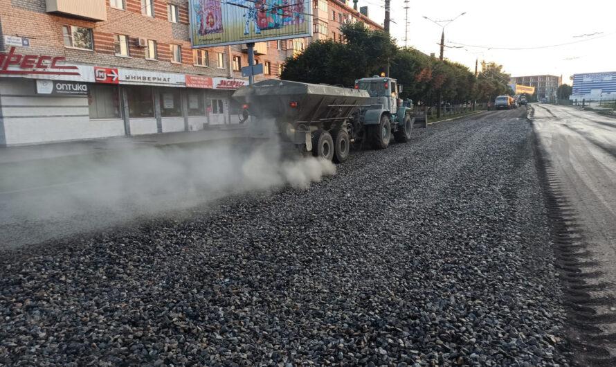 В столице Чувашии ремонтируют 5 участков дорог по национальному проекту