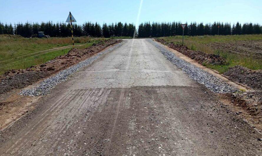 В Моргаушском районе ремонтируют дорогу по национальному проекту