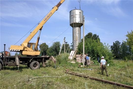 В 2021 году в Чувашии отремонтируют более 120 объектов водоснабжения и около сотни башен