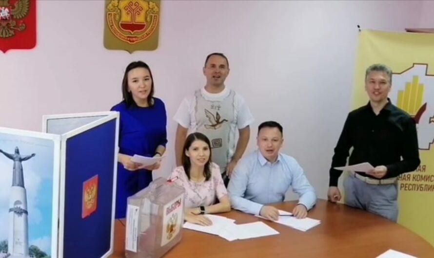 ЦИК Чувашии присоединилась к всероссийскому флешмобу поддержки олимпийцев