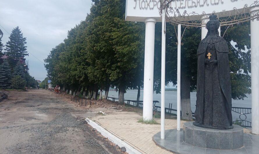 Набережная и Арбат в Мариинском Посаде будут благоустроены осенью