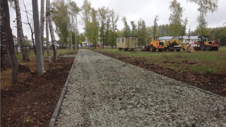 Парк в посёлке Урмары благоустроят по проекту «Свадебная поляна»