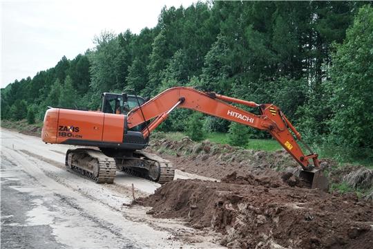 В Чебоксарском районе в нормативное состояние приведут более 37 км дорог