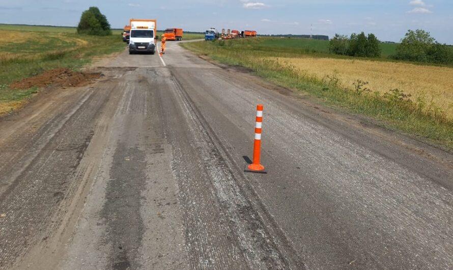 В Янтиковском районе восстанавливают дороги, разрушенные при строительстве трассы М-12