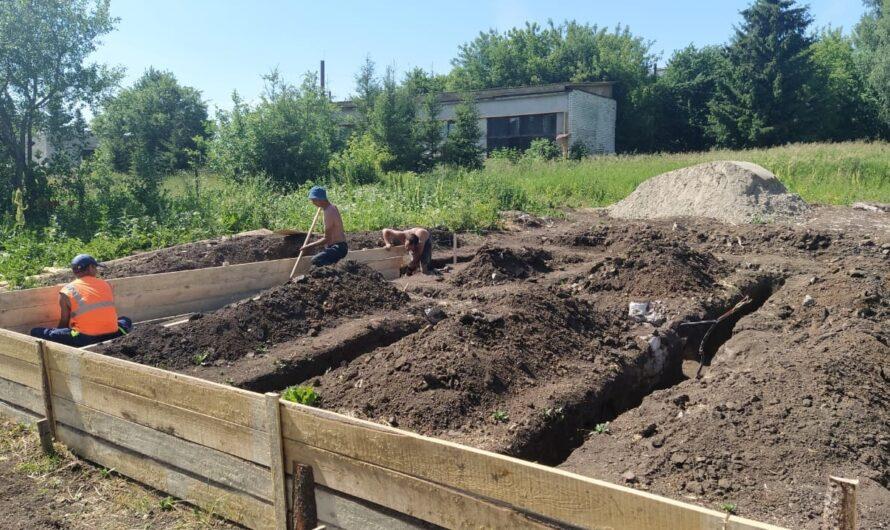 В Аликовском районе строят два фельдшерско-акушерских пункта