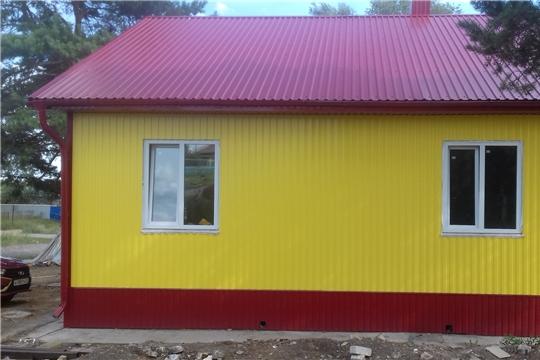 В деревне Яндаши Шумерлинского района строят новый ФАП взамен старого