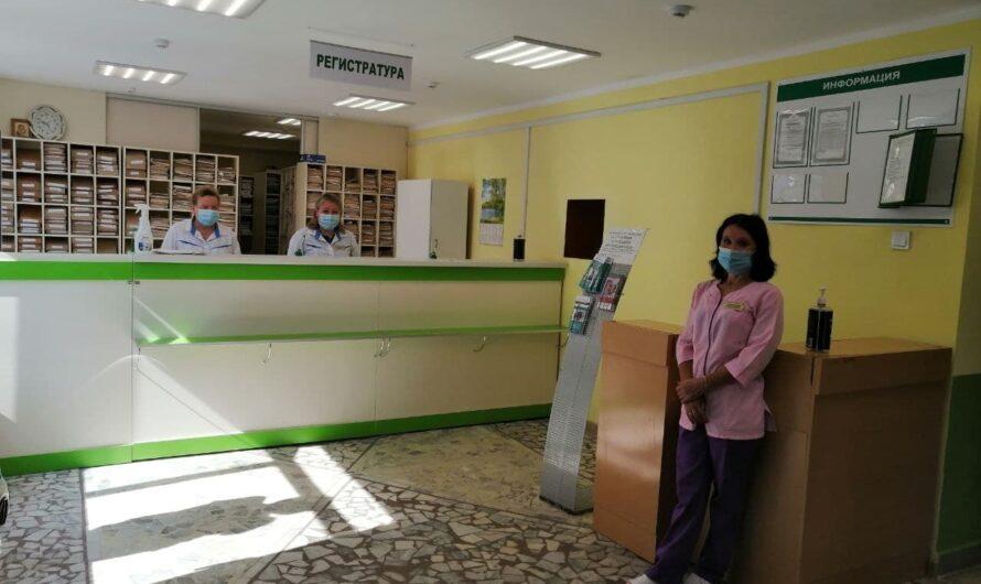 В Ибресинской ЦРБ капитально отремонтировали поликлинику