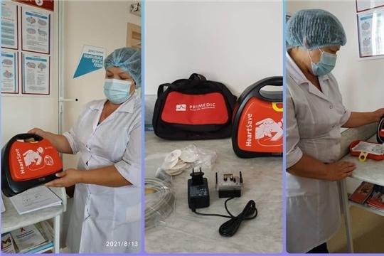 В Яльчикскую ЦРБ поступило 10 новых дефибрилляторов