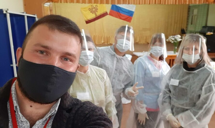 В одной из УИК Цивильского района вакцинированы 100% членов избиркома