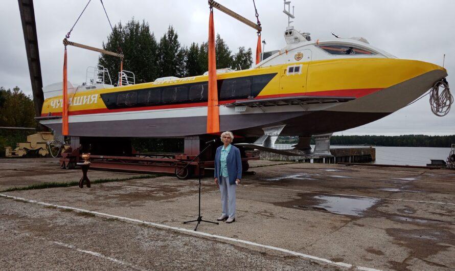 В Нижегородской области спущен на воду «Валдай» «Мая Костина»