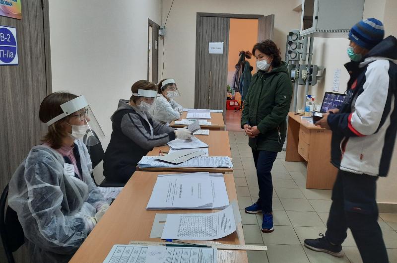 В одной из деревень Вурнарского района явка составляет 91 %