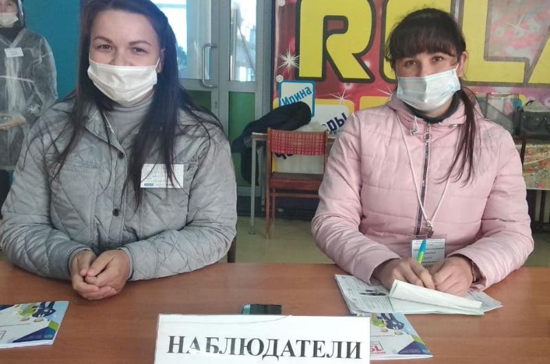 Молодые наблюдатели Общественной палаты Чувашии принимают активное участие в выборах в Чебоксарском районе