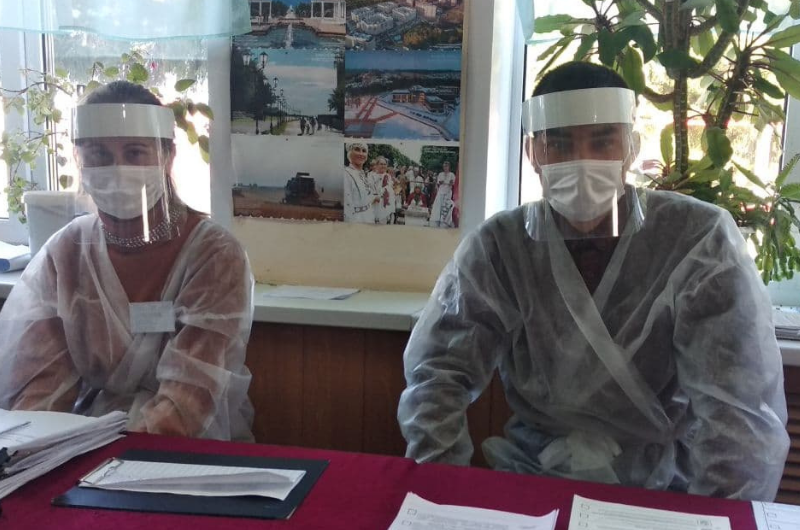 Молодёжь Чебоксарского района работает в избирательной комиссии