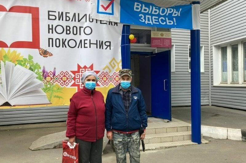 Супружеская пара из Чебоксарского района не пропустила еще ни одних выборов