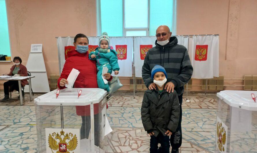 Семья Ивановых из Шемурши проголосовала за свое будущее и будущее детей