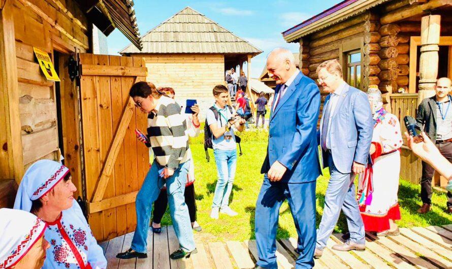 Чувашский дом открылся в Парке дружбы народов в Самаре