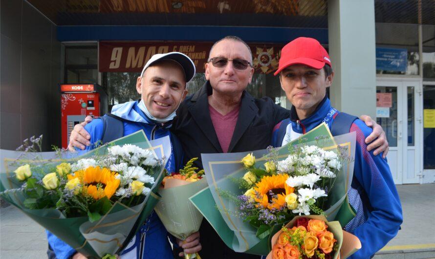 В Чебоксарах встретили чувашских спортсменов-участников Паралимпийских игр в Токио